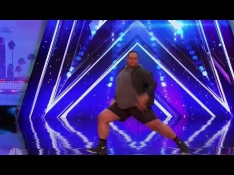 Oscar Hernandez: a BIG GUY with Some Swagger | Auditions 3 | America's Got Talent 2017 (видео)