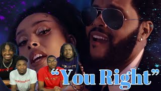 Doja Cat, The Weeknd - You Right (Official Video) REACTION