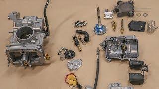 Keihin FCR 41 flatslide racing carburetor accelerator pump
