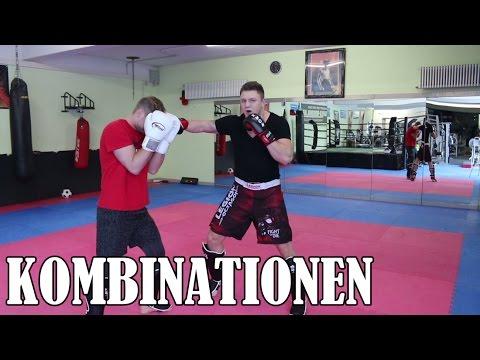 Effektive Kombinationen im Kickboxen & Boxen