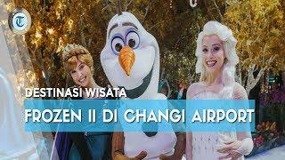 Sambut Frozen II Bandara Changi Singapura Hadirkan Frozen Wonderland