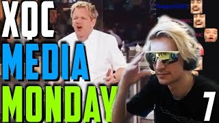 XQC MEDIA MONDAY #7 WCHAT Ft. Moxy