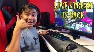 LIVE STREAM IS BACK | CHILLER GRENADE | DAMIAN GAMING