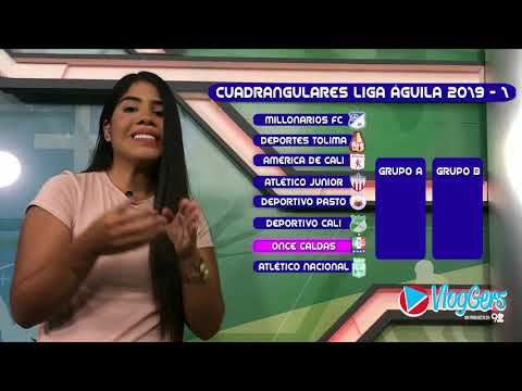 LIGA ÁGUILA: asi sera el sorteo para los cuadrangulares de la temporada 2019-I