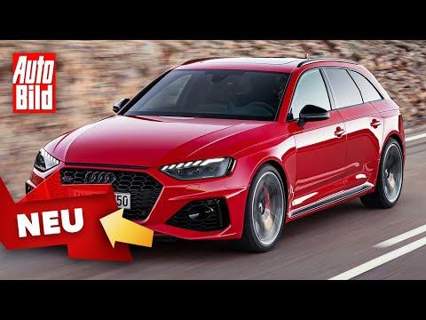 Audi RS 4 Avant Facelift (2020): Test - Kombi - Info