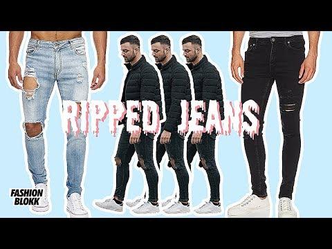 Ripped Jeans für den Sommer! (Zerissene Jeans)
