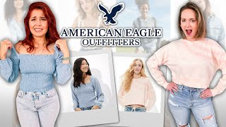 Is American Eagle Cool Again?! [Try On Haul] by Clevver Style