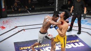 СКВОЗЬ СЕРДЦЕ в UFC  TOP 5 RANKED МАКС ХОЛЛОУЭЙ