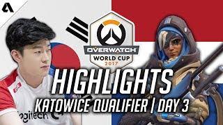Overwatch | Genjis Can't Dragonblade vs Ryujehong Ana - Korea VS Netherlands | World Cup Highlights