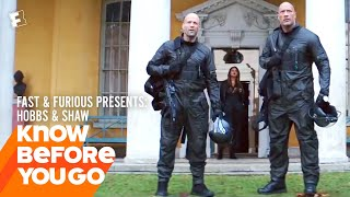 Know Before You Go: Fast & Furious Presents: Hobbs & Shaw   Movieclips Trailers