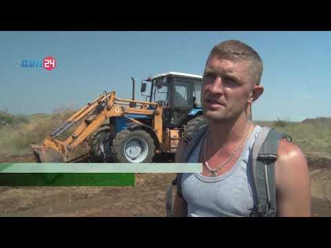 Рекультивация карьера в Ростовской области - на контроле Управления Россельхознадзора