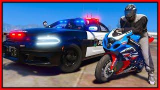 GTA 5 Roleplay - biker crew trolling cops | RedlineRP