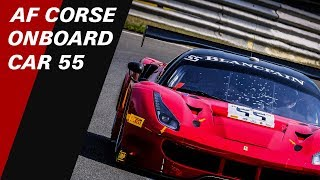 LIVE - Get onboard the  #55 AF Corse Ferrari at Spa - Blancpain GT Sports Club - MAIN RACE