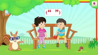 Speech or Punctuation Marks | Use of Dialogue Boxes in Written English | English Grammar