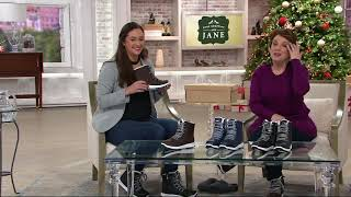 Khombu Waterproof Lace-up Ankle Boots - Alegra On QVC