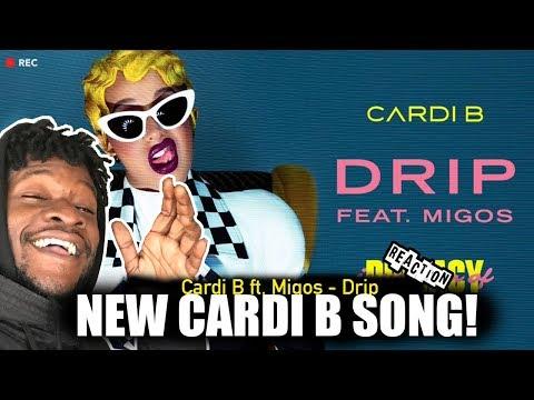 Cardi B - Drip feat. Migos [Official Audio] REACTION!