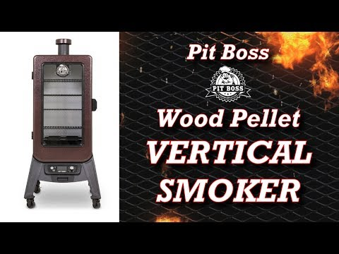 Best Vertical Smoker – Pit Boss Vertical Pellet Smoker – Review