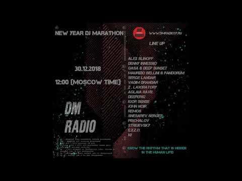 Serge Landar   NY DJ Marathon on DMRadio 2019