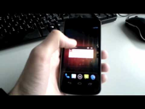 First Video Of The Galaxy Nexus And Ice Cream Sandwich?