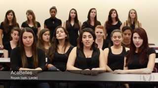 Florida State University AcaBelles   Royals opb  Lorde