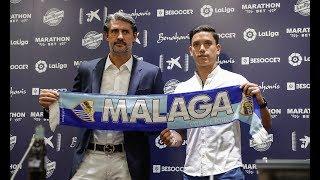 """Renato Santos: """"Fue muy fácil elegir Málaga"""""""