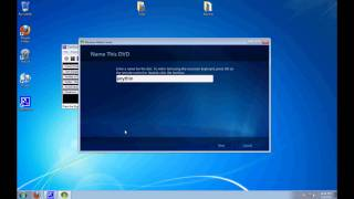 No downloads! How to burn a Movie in Windows Media Center.