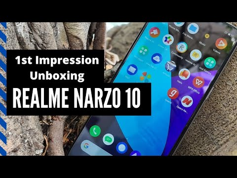 Realme Narzo 10: Unboxing and 1st Impression