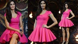 Katrina Kaif's MICRO MINI Dress At Dhoom Machale Dhoom Song Launch