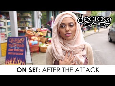 On Set: After the Attack - Degrassi: Next Class