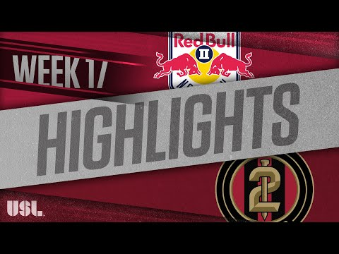 Нью-Йорк Ред Буллз-2 - Atlanta United 2 6:1. Видеообзор матча 07.07.2018. Видео голов и опасных моментов игры