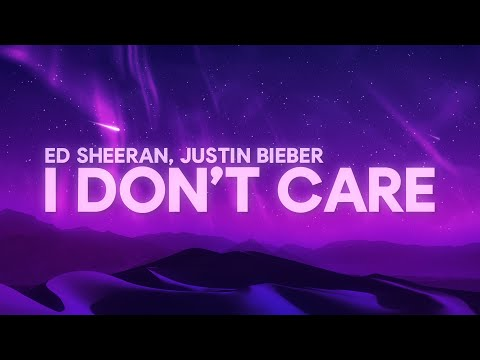 Ed Sheeran, Justin Bieber - I Don't Care (Lyrics) - SyrebralVibes