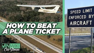 How To Beat A Speeding Ticket Issued By Aircraft
