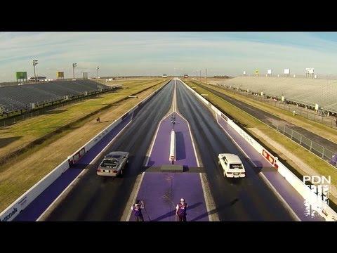 Royal Purple Raceway from the Air