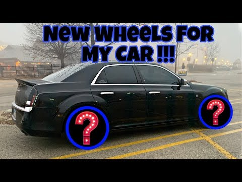 New Wheels And Tires For My Chrysler 300 !!!!