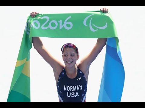 Coverage from Grace Norman's Gold Medal Win at the 2016 Rio Paralympic Triathlon
