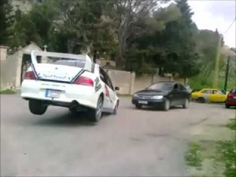 Rally driver's killer reflexes