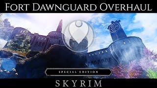 Skyrim SE Mod Favorites: Dawnguard Fortress Improved - Самые лучшие