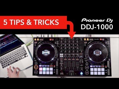 5 Tips & Tricks on the Pioneer DDJ-1000