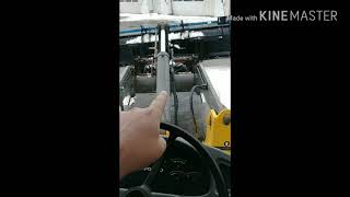 How to operate a front end loader