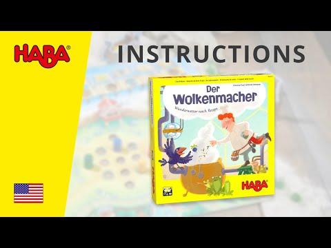 HABA Cloud Maker (Instructions)