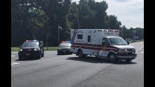Paramedic B-5 MVC assist after vehicle fire