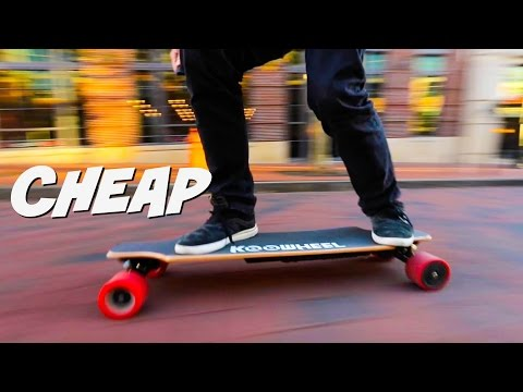 CHEAPEST ELECTRIC SKATEBOARD – Tested to the Limit