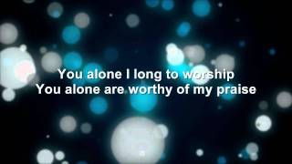 You Are Worthy of My Praise - Charlie Hall