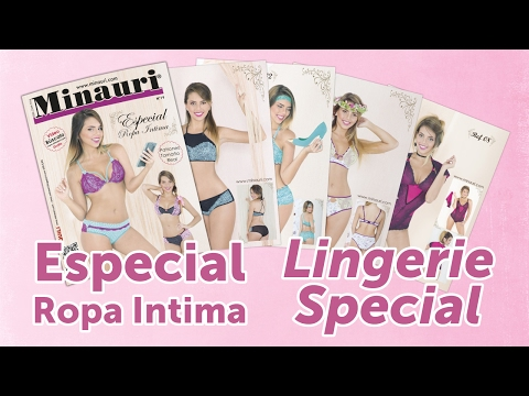 Minauri Nº 19 Lingerie - Ropa Intima ( Pattern Magazine )