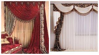 100+ Top 2020 Elegant chiffon curtains designes,,royal design