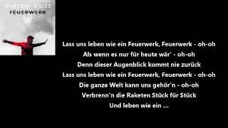 Wincent Weiss Feuerwerk Lyrics