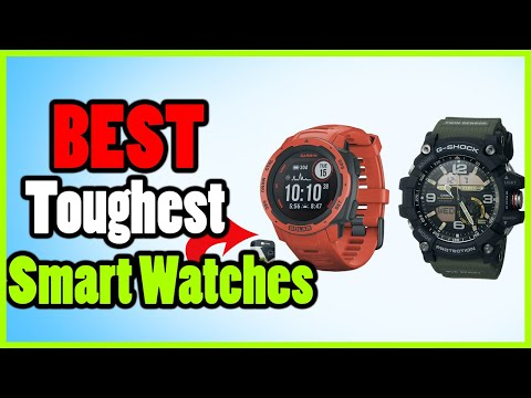 Top 5: Toughest Military Smart Watches For Tactical & Outdoors
