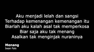 Download lagu Iwan Fals Menang Mp3