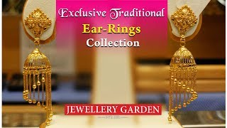Indian Varieties Type Ear-Rings Collection, Jewellery Garden Pvt Ltd,