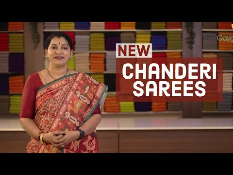 "<p style=""color: red"">Video : </p>NEW CHANDERI SAREES COLLECTION"